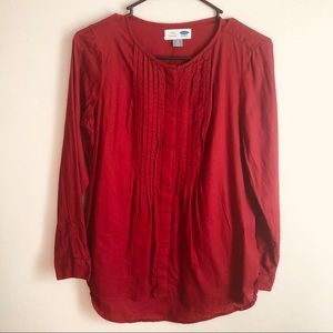 Red Old Navy Tunic size Small